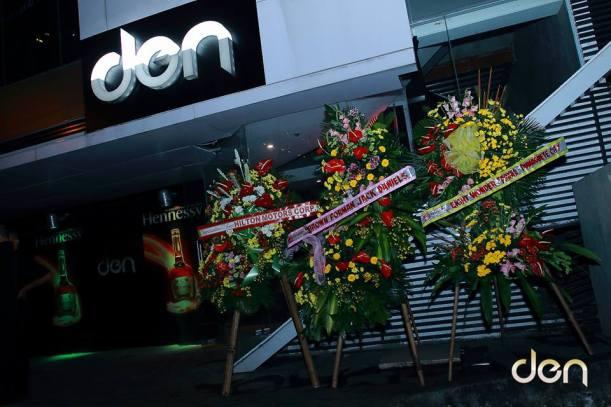Den Nightclub entrance, Cebu