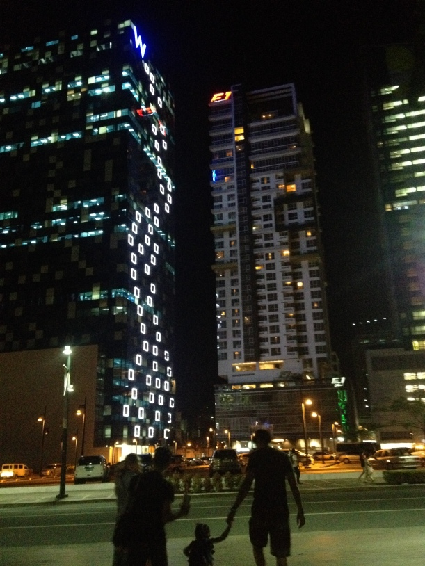 F1 Hotel at Night